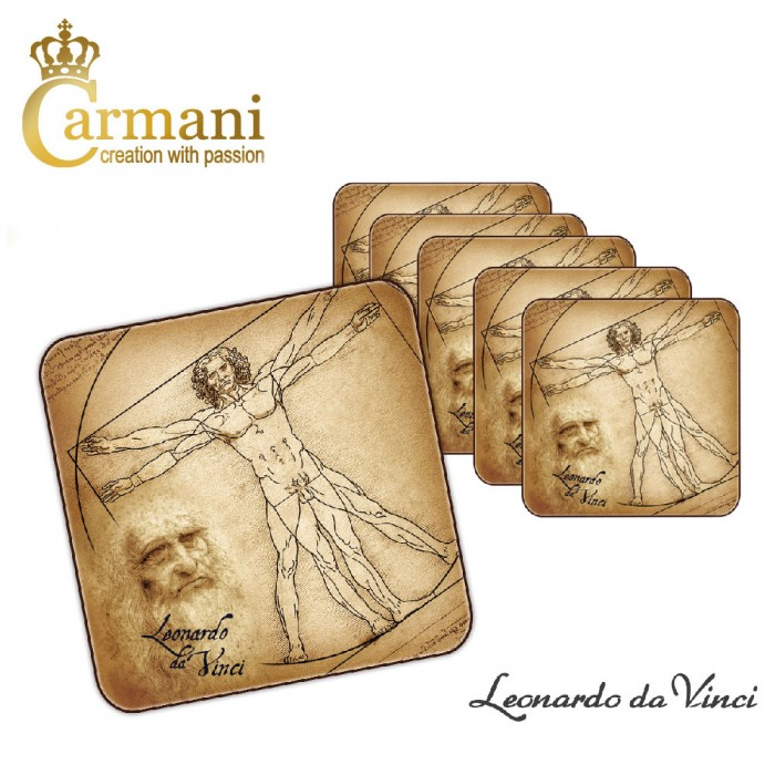 Piece Of Coaster Cork Pad Printed With Leonardo Da : 1 piece of coaster cork pad printed with leonardo da vinci paintings from pictstocks.com size 700 x 700 jpeg 101kB