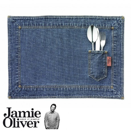 Denim placemats - set of 2
