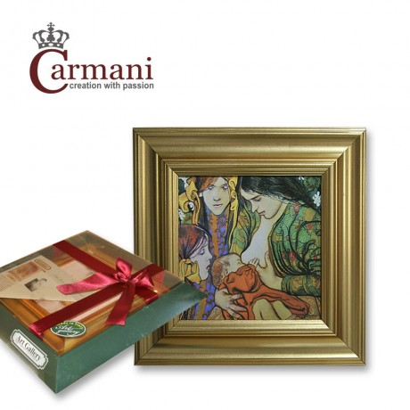 Quality Framed Reproduction Print Picture by Wyspianski