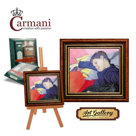 Art Gallery - Framed picture with stand by Wyspianski