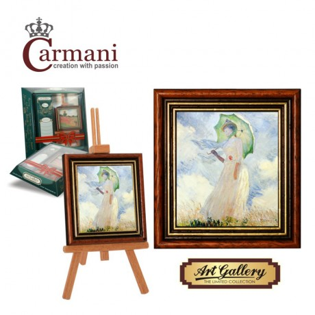 Art Gallery - Framed picture with stand by Monet