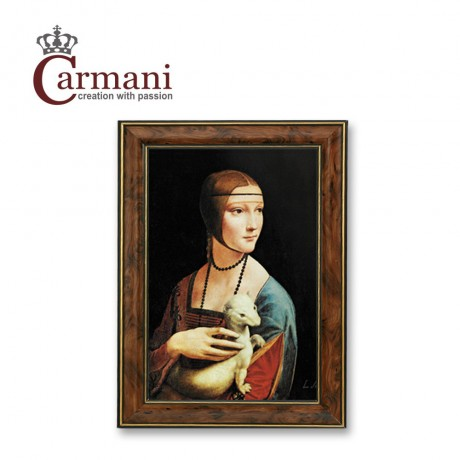 "Framed picture ""The Lady With An Ermine"" by Leonardo da Vinci - Art Gallery Collection"