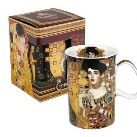 Classic mug decorated with `Adele` by Gustav Klimt