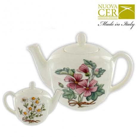 Ceramic Teapot - Botany Collection