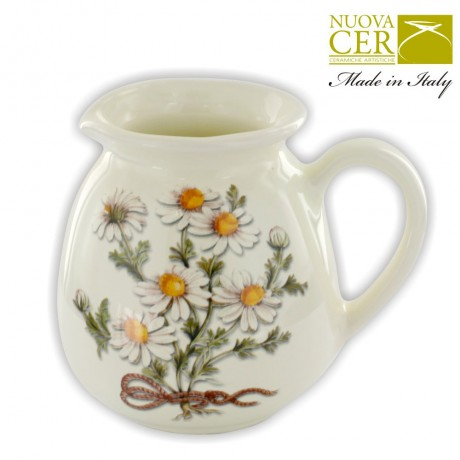 Ceramic Creamer for tea - Botany Collection