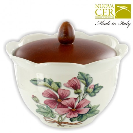 NUOVA Bowl with lid - Botany