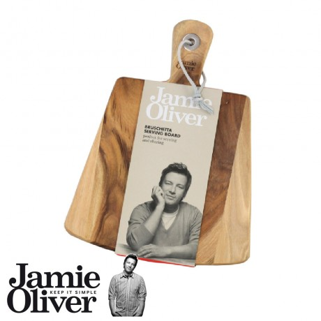 JAMIE OLIVER Wooden Bruschetta Serving Board