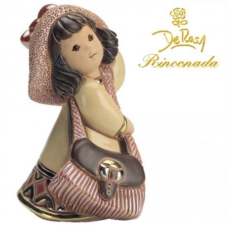 Girl with handbag Figurine