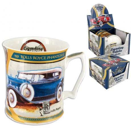Mug for a Man 480 ml - Legendary Vehicles 1932r Rolls Royce Phantom II.