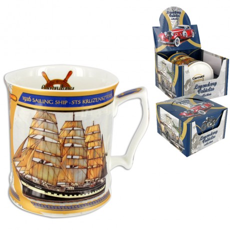 Mug for a Man 480 ml - Legendary Vehicles 1926r Sailing Ship - STS Kruzensztern