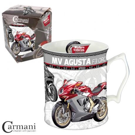 Mug for a Man 550 ml - Modern Vehicles MV Agusta F3 ORO motorcycle