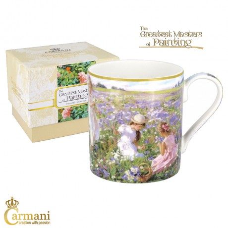 Classic Mug decorated with Averin painting 380 ml