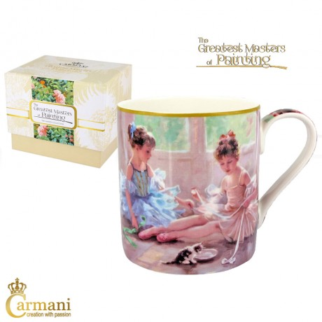 Classic Mug decorated with Razumov painting 380 ml