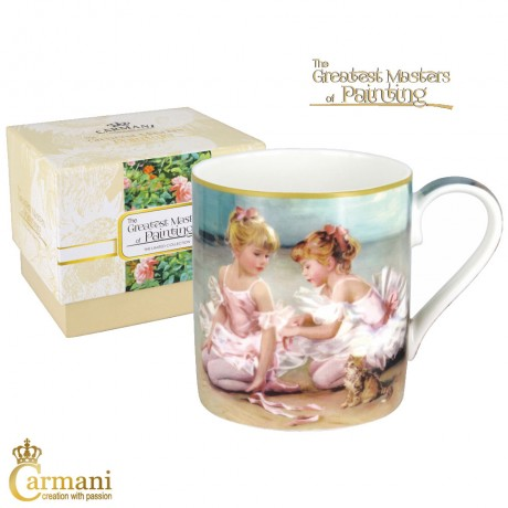 Classic Mug decorated with Impressionist painting 380 ml
