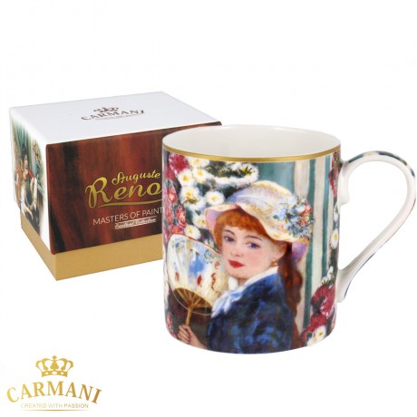 Classic Mug decorated with Renoir painting 380 ml
