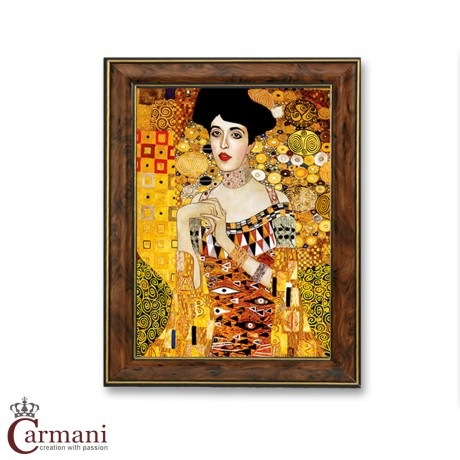 Quality Framed Reproduction Print Picture 'Adele' by Gustav Klimt