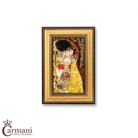 Quality Framed Reproduction Print Picture 'The Kiss' by Gustav Klimt