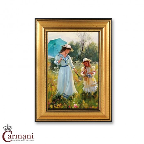 Quality Framed Reproduction Print Picture by Averin
