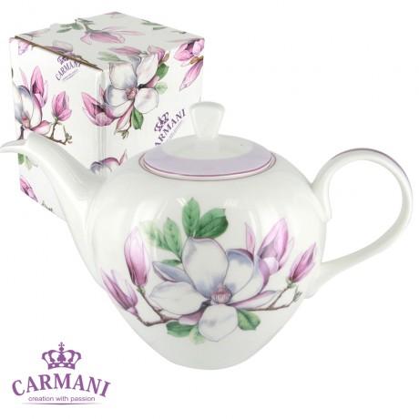 Porcelain teapot with Magnolia 1200 ml