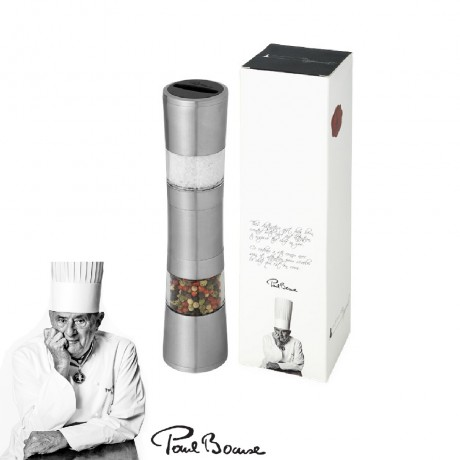 Dual Pepper Mill and Salt Grinder