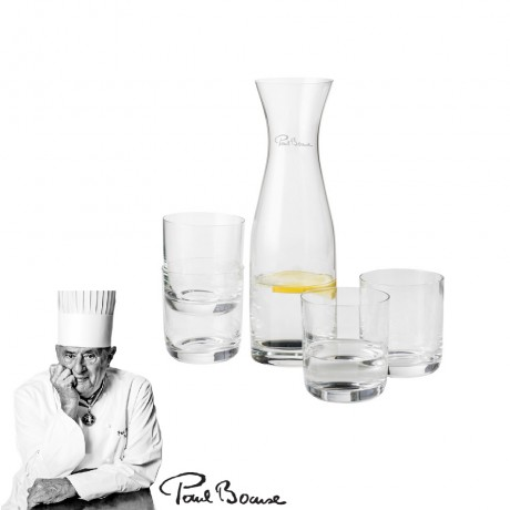 Prestige Water carafe with 4 wine glasses