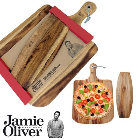 JAMIE OLIVER Pizza board and cutter