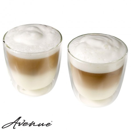 Double-walled Italian Capuccino Set - 2 pieces