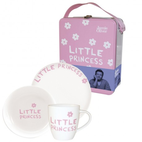 3 Piece Little Princess Breakfast Set for girls